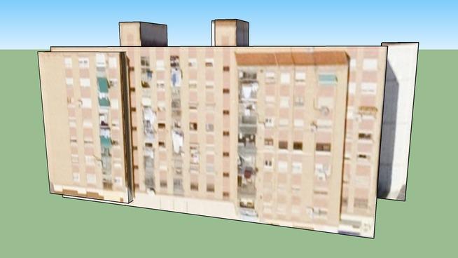 Building in Valencia, Spain