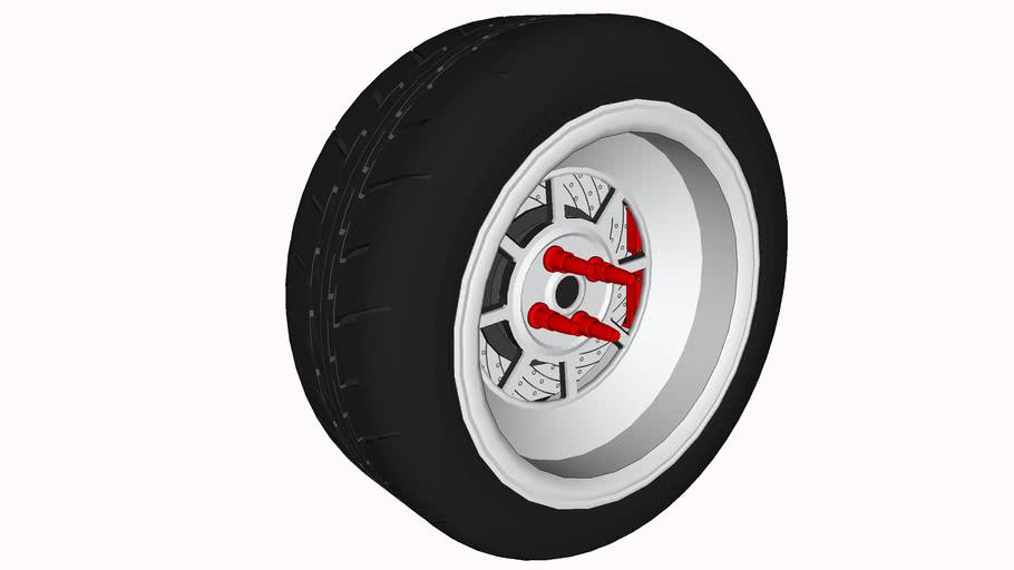 ROTA SHAKOTAN wheel 15 inch 8J rim