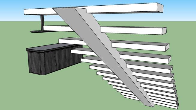 bar et escalier