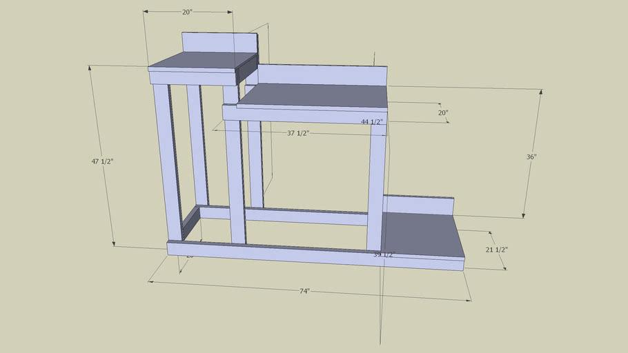 Wooden Brewstand