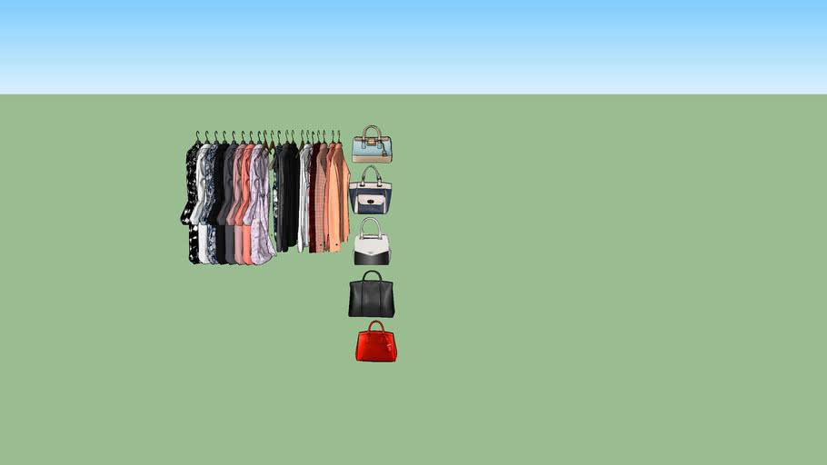 baju dan tas