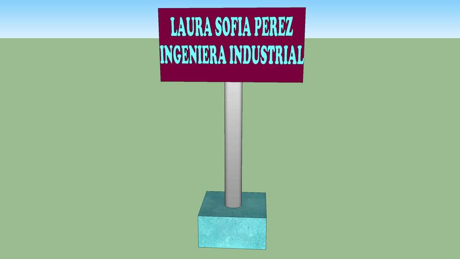 porta tarjeta Laura Sofia Perez