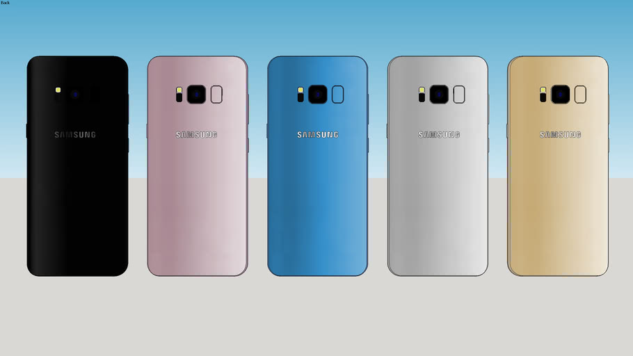 Samsung Galaxy S8 – All Colors
