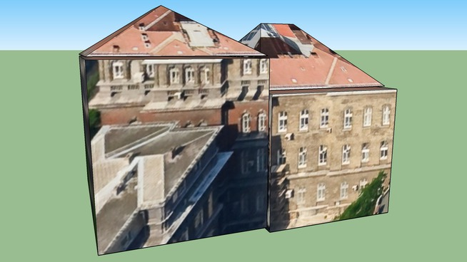 Budapest, SOTE Központi épület