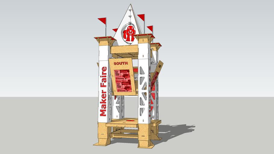Information Kiosk for Maker Faire