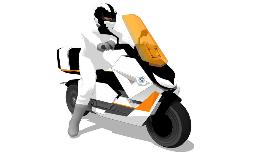 BMW Electric scooter 2021