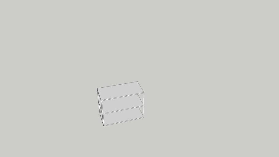 OPPHUS 80x40x60 cm open shelving unit