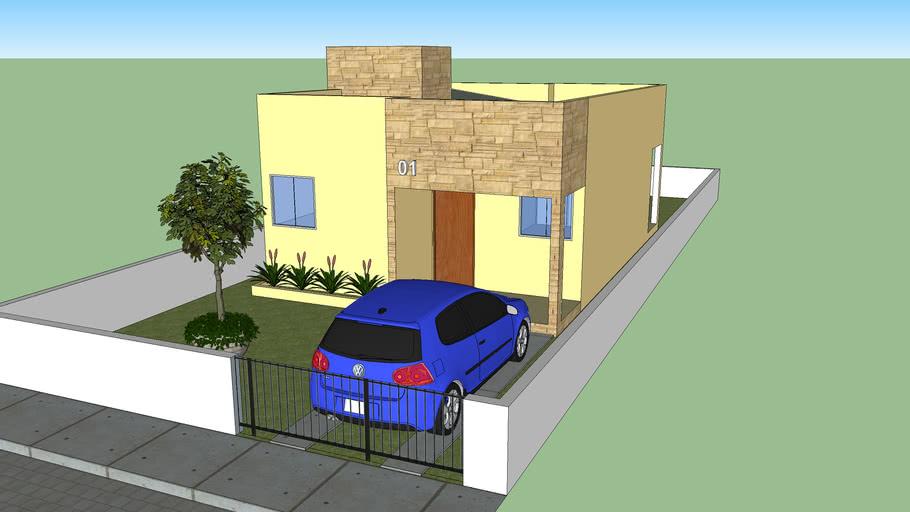 Casa popular em Bonito-PE