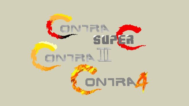Contra Logo's (1-4)