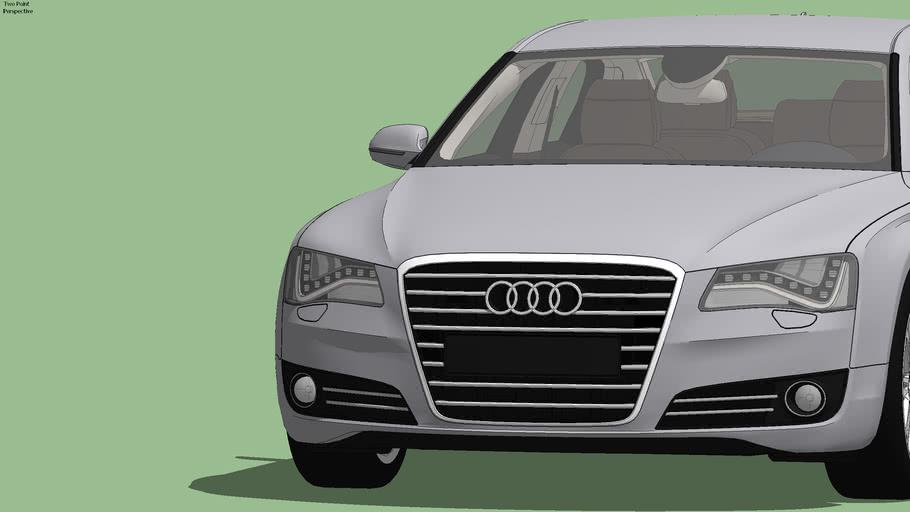 Audi A8 D4 Typ 4H 2012