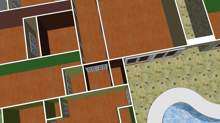 Empty house layout