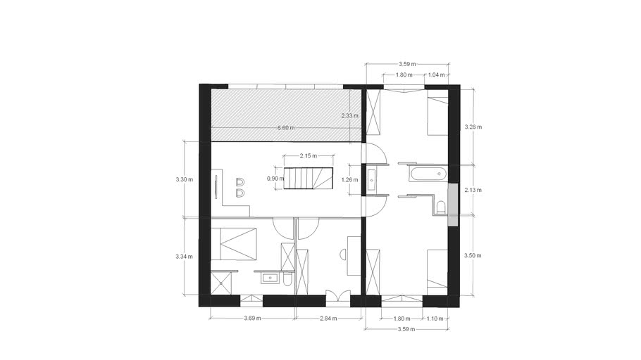 Plan aménagement ETAGE V2bis