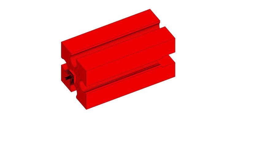 Fischertechnik - Big Block (red)