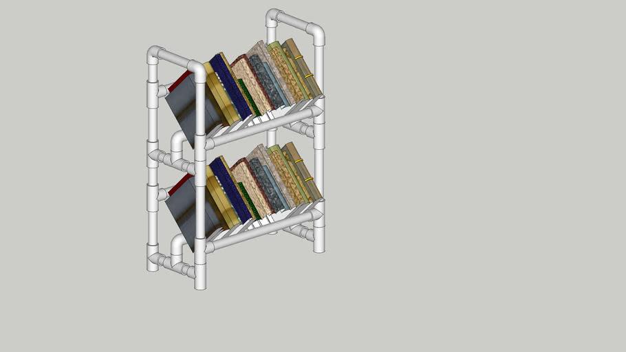 PVC Bookshelf