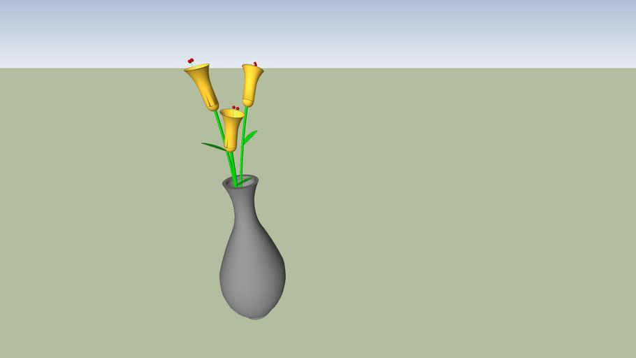 vaso com flor Ddiniz