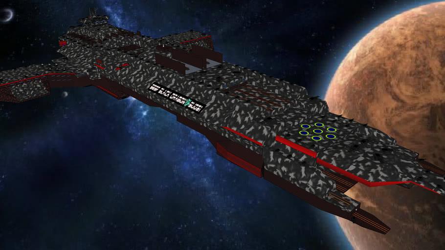 SBSF Black Dragon Su31 - Battle Star Fortress Class