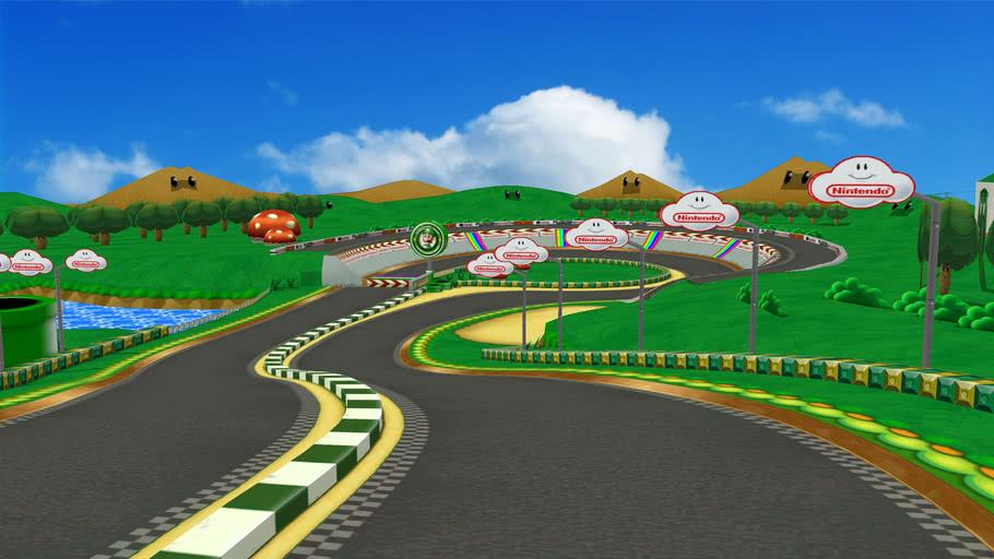 mario kart double dash tracks