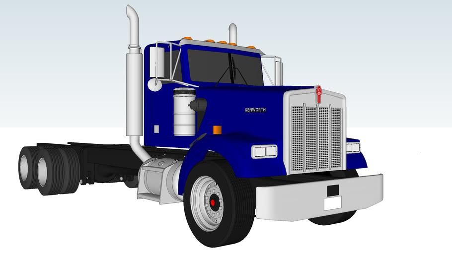 Kenworth W900-B Heavy Duty- :)