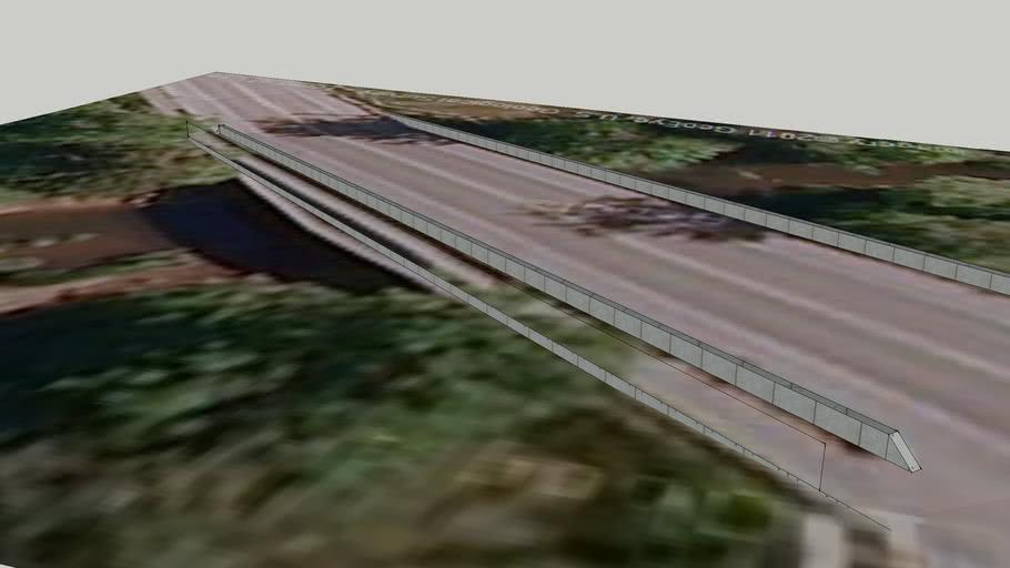 Old Olympic Hwy Bridge over Skookum Creek
