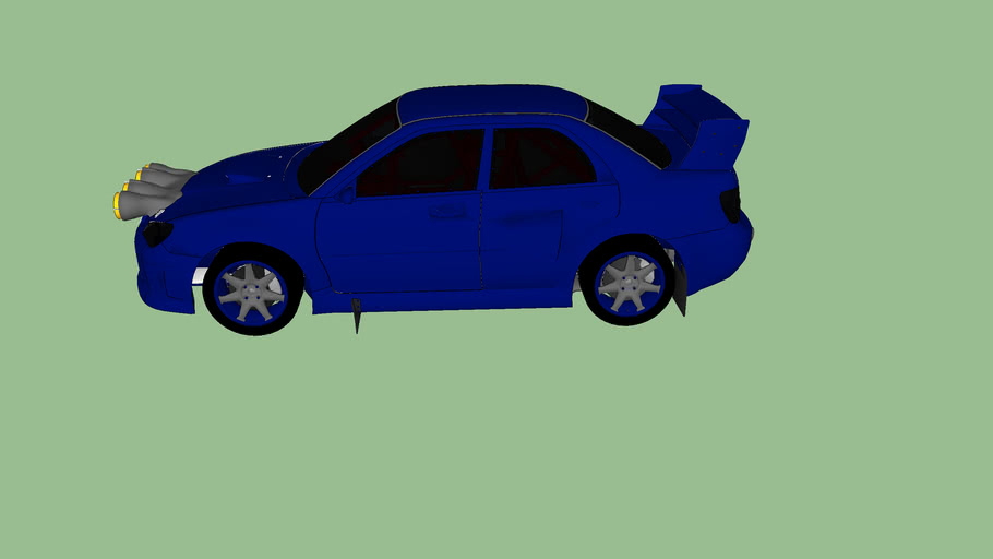 Subaru Rallycar