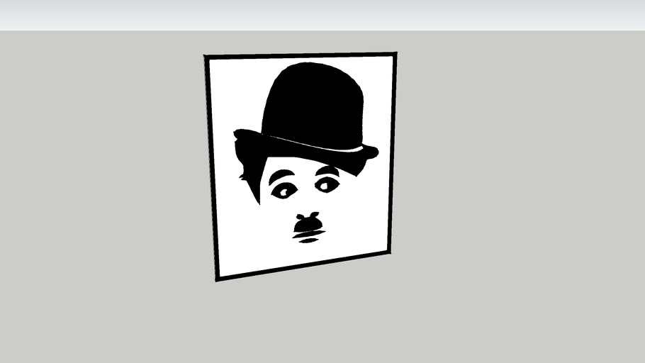 Quadro - Charlie Chaplin 53.38.03.0019