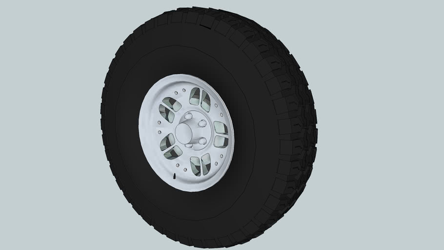 Ford Ranger Wheel Set