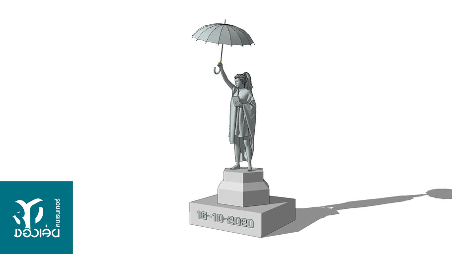 Umbrella monument