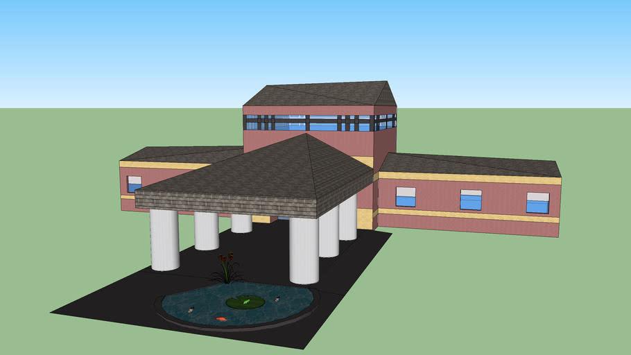 Community center (empty inside (finished))