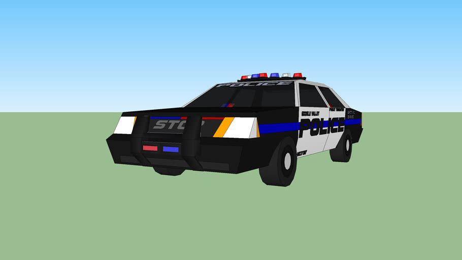 Google Valley Police Pursuit Termination Vehicle