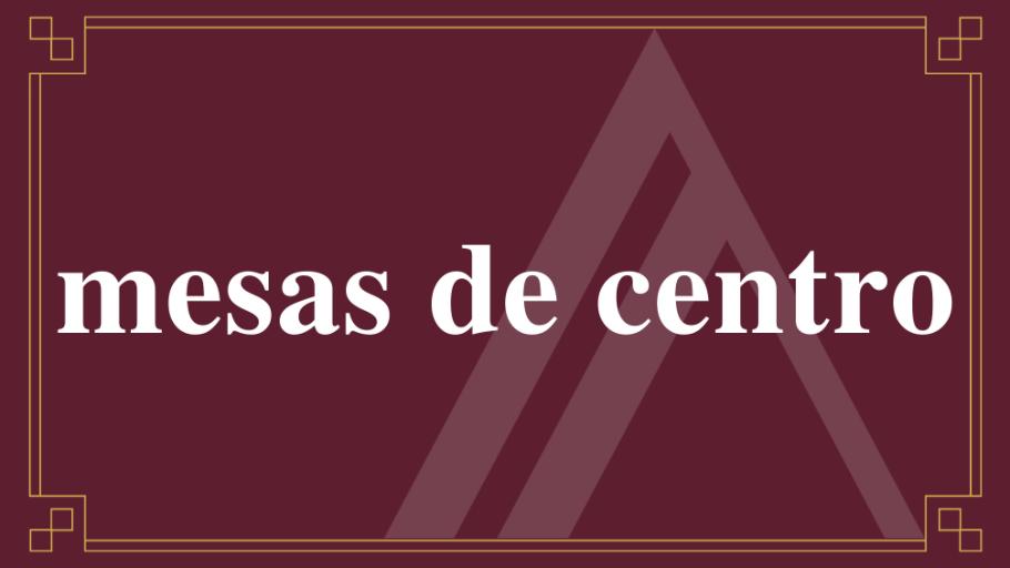 Mesas de Centro | ARTEMIS Arquitetura & Design