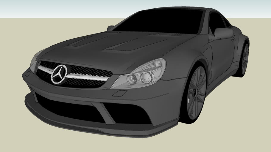 Tuned Mercedes Benz SL65