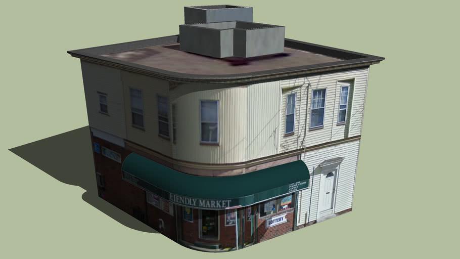 Gebäude in Somerville, Massachusetts, Vereinigte Staaten