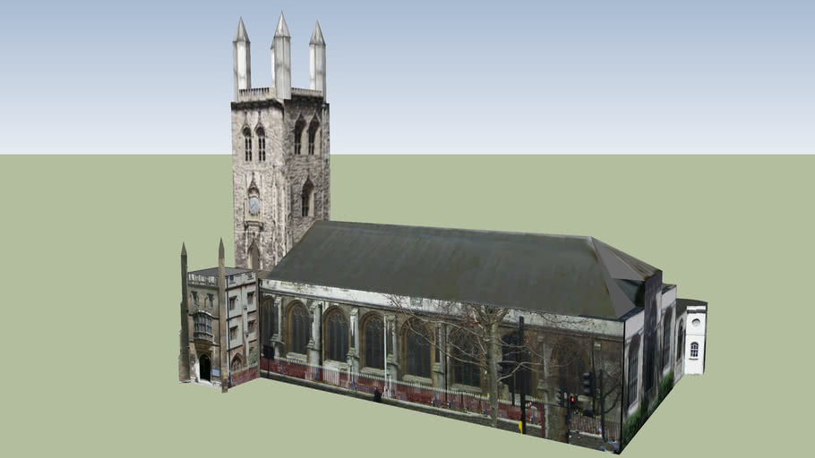 St. Sepulchre-without-Newgate, Holborn, London UK