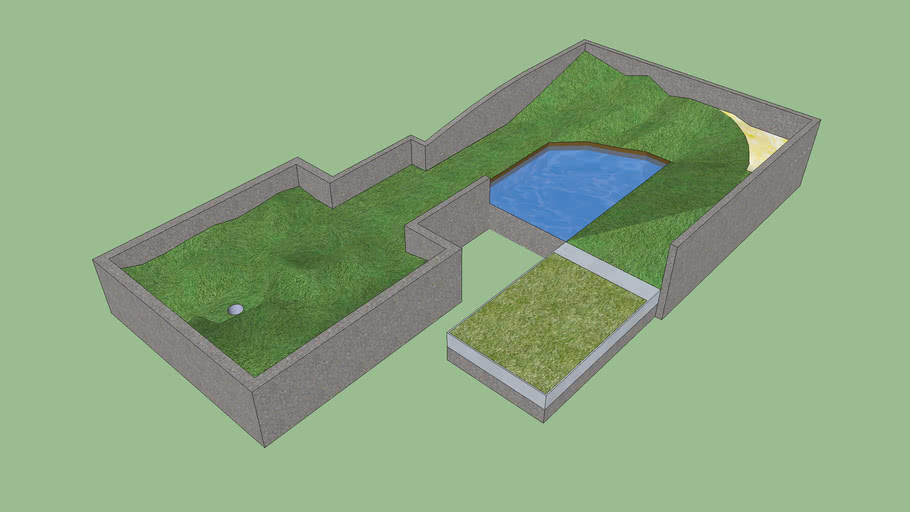 A random golf course i made