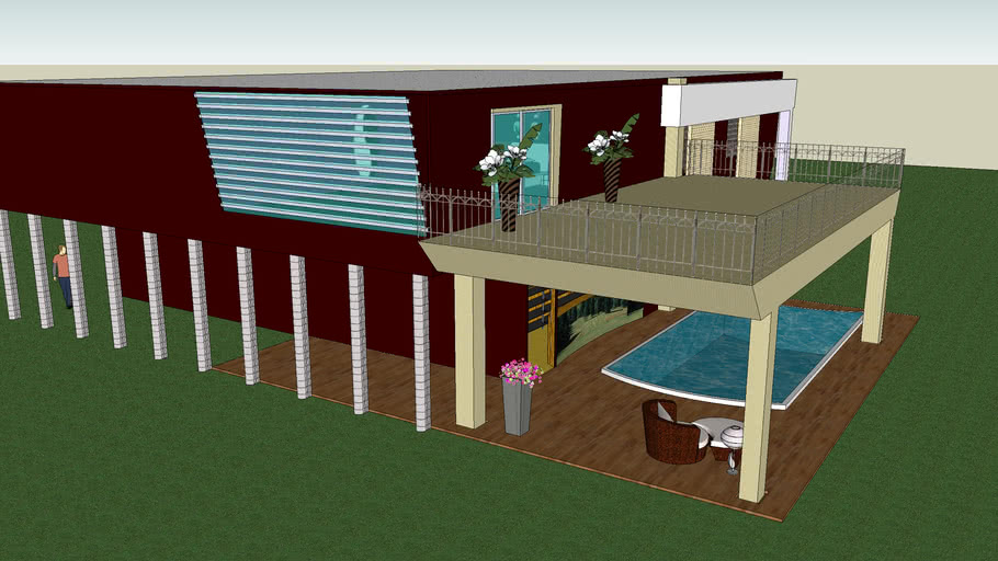 modern house by ludovico