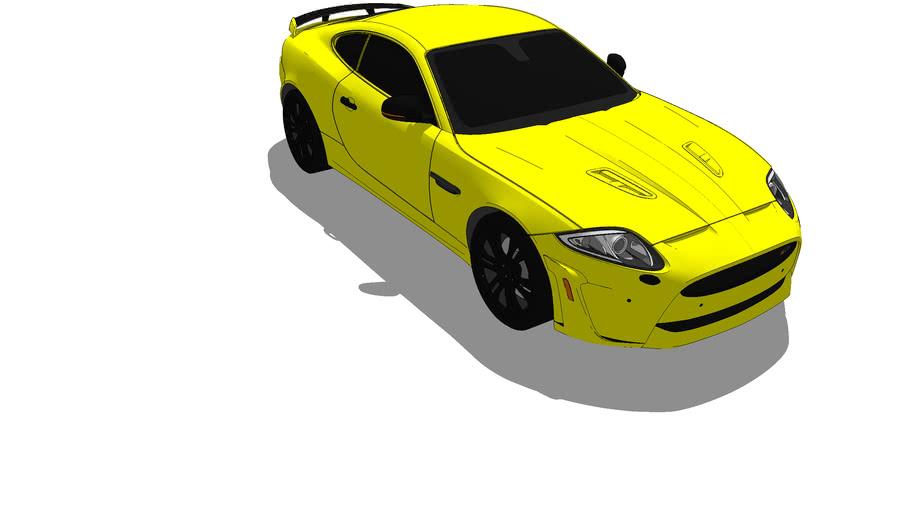 2012 Jaguar XKR-S Custom Modified (Yellow)