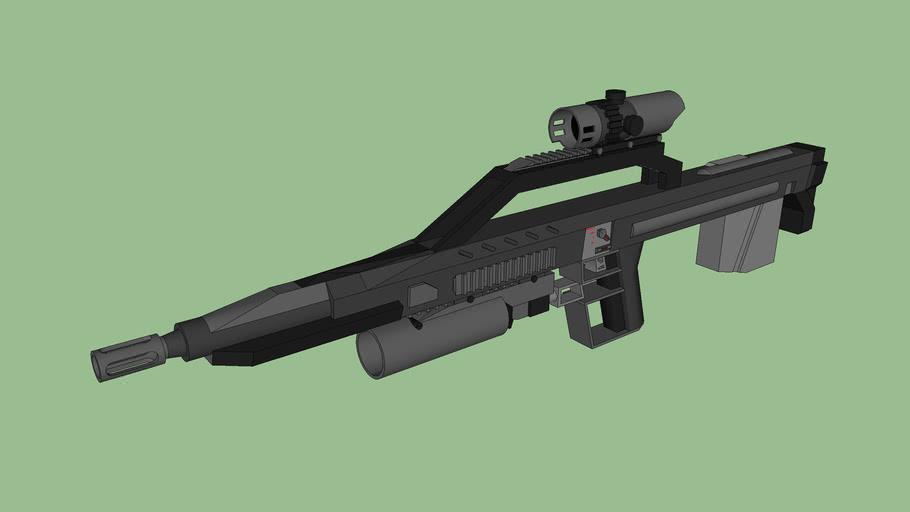 .223 rifle