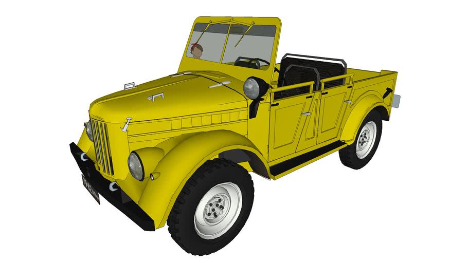 ГАЗ 69 кабриолет \ GAZ-69A kabri
