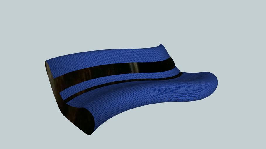 Curved Comfy Sofa
