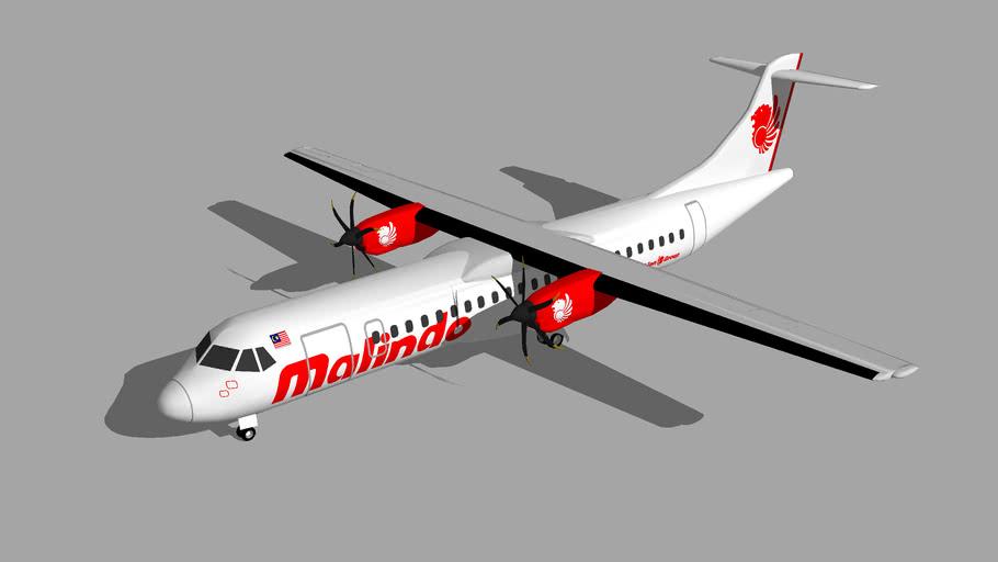 Malindo Air ATR 72-600