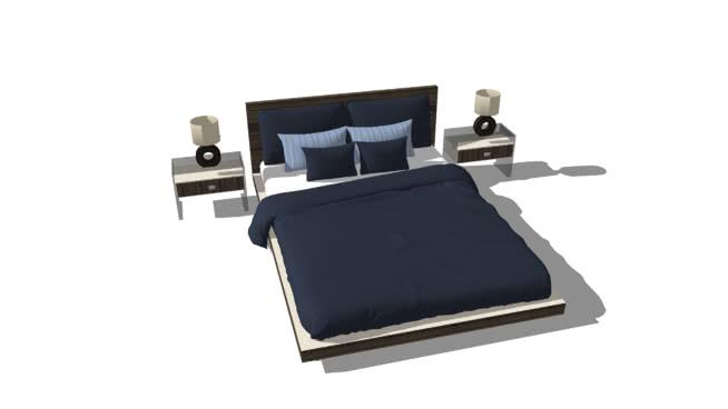 Matrimonio Bed : Double bed d warehouse