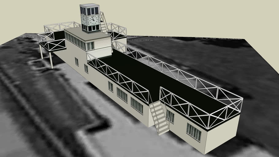 Goodwood Circuit Race Control Building