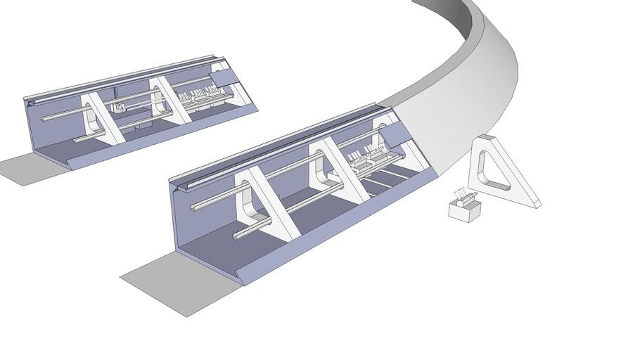 Perimeter wall x-ray