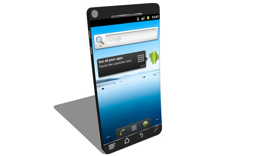 Concept Android 2.3 Phone