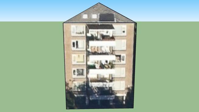 Flatgebouw 1,Jul.v.Stolbglaan/Mariastraat, Den Haag, Nederland