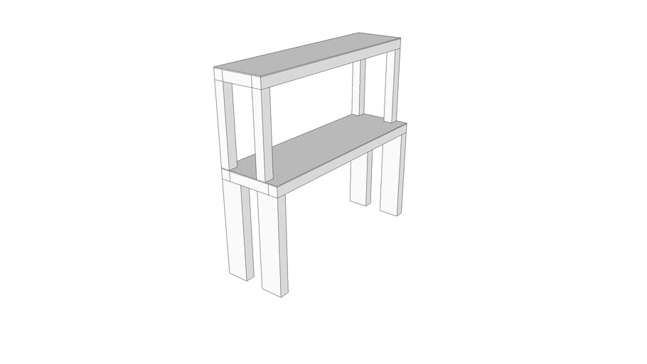2 Layer Desk Shelf