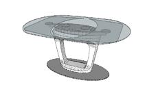 Tavolo Orbital Calligaris.Tavolo Orbital Calligaris 3d Warehouse