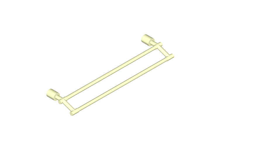JUSTIME_Double Towel Bar (600mm) _6880-14-80CP