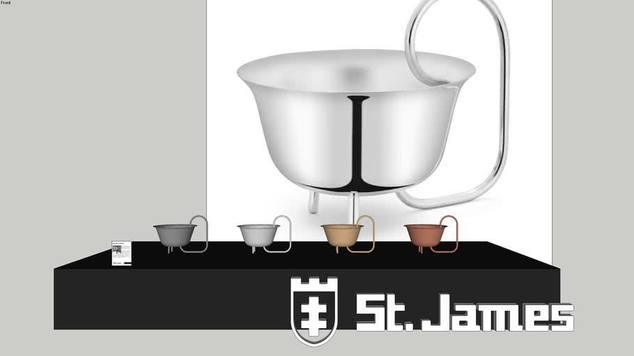 Bowl Cachepot Loops - Código: 3623 / Brunno Jahara para Saint James