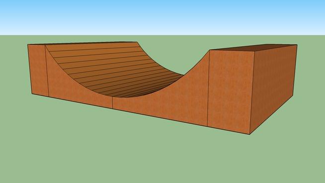 Rampe sket board